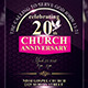 Anniversary Church Flyer - GraphicRiver Item for Sale