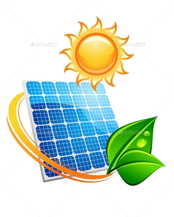 Sustainable Solar Energy Concept - Technology Conceptual