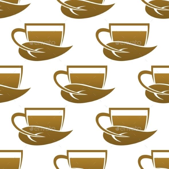 Tea Cup Pattern - Backgrounds Decorative