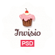 Invisio Cake - Sweet PSD Template Nulled
