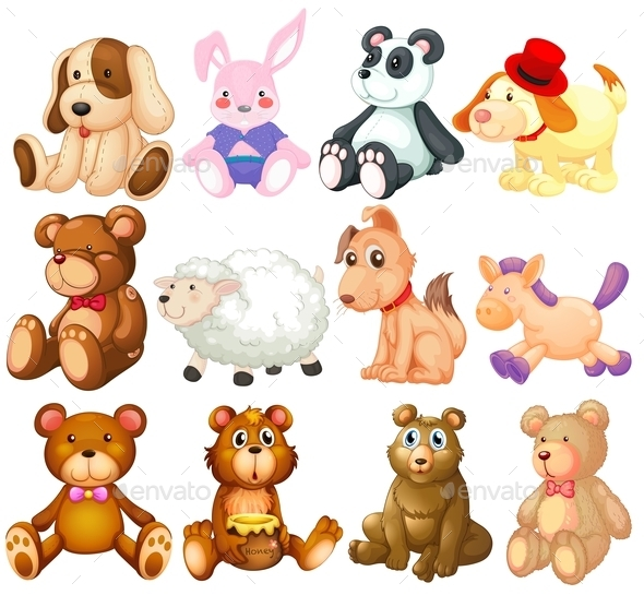 Stuffed Animals - Animals Characters