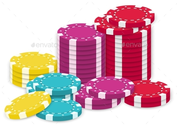 A Collection of Poker Chips - Miscellaneous Characters