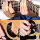Men Playing At Guitar In Music Studio - VideoHive Item for Sale