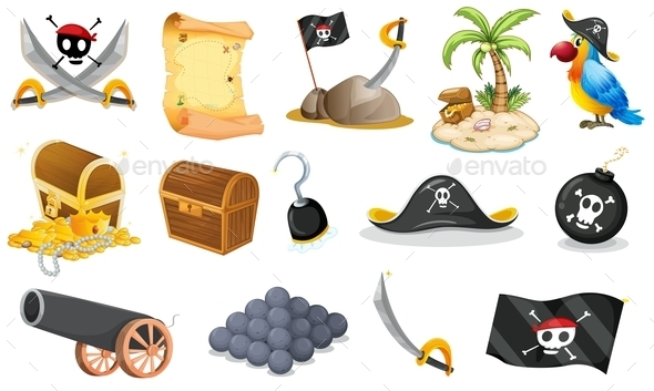 Pirate Elements - Miscellaneous Characters