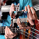 Bass Player At Guitar In Studio - VideoHive Item for Sale