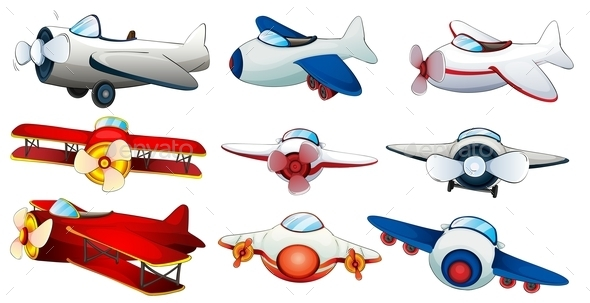 Different Planes - Man-made Objects Objects