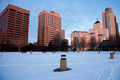 Winter morning in downtown Milwaukee - PhotoDune Item for Sale