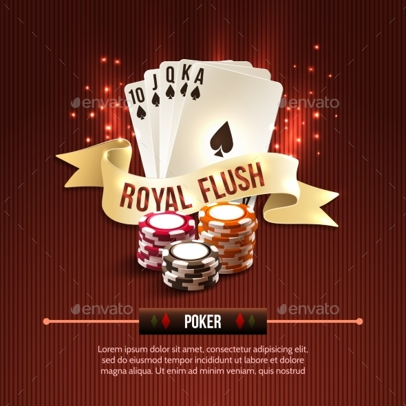 Poker Casino Background - Sports/Activity Conceptual