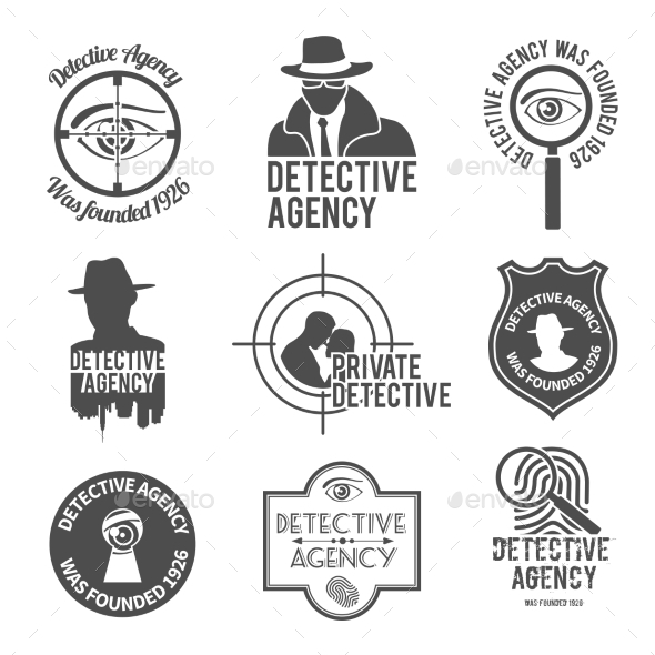 Detective Label Set - Concepts Business