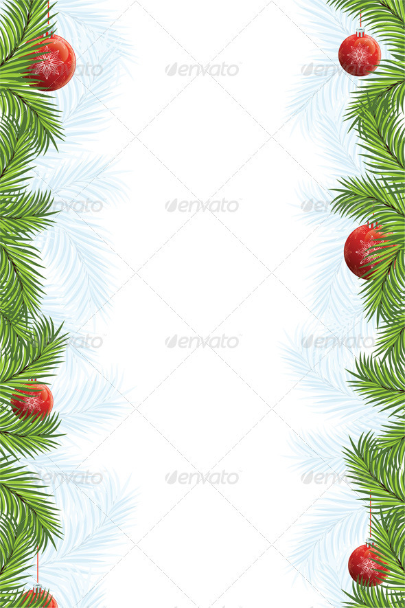 Fir Framing - Christmas Seasons/Holidays