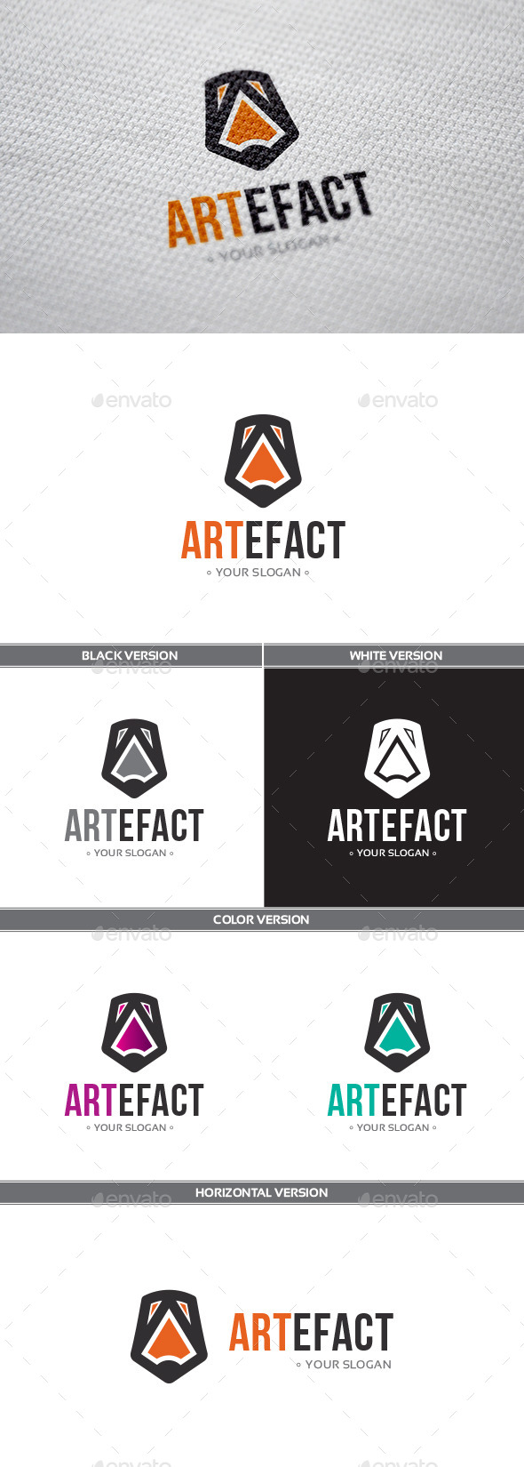 Artefact Logo - Objects Logo Templates