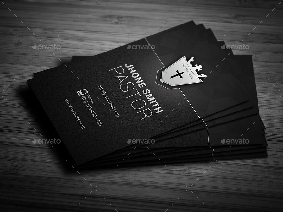 Creative Church Business Card by Awns | GraphicRiver