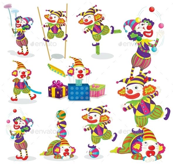 Jokers Various Activities - People Characters