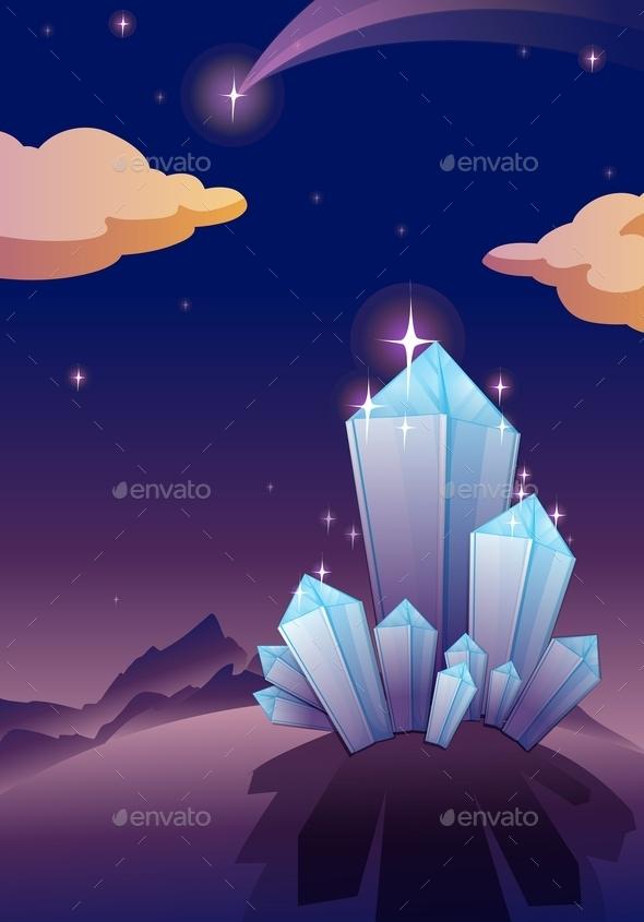 Crystal Pyramids - Miscellaneous Vectors