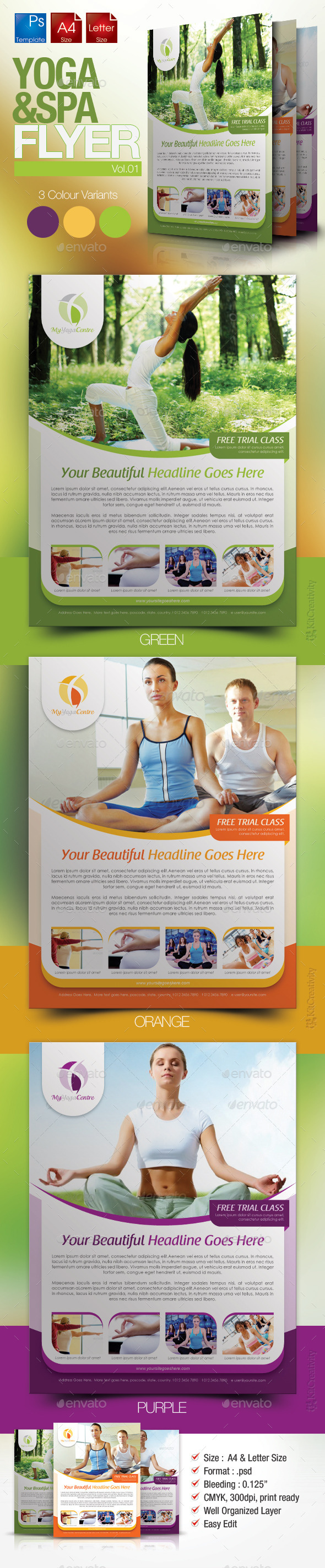 Simple Yoga Flyer Vol.1 - Miscellaneous Events