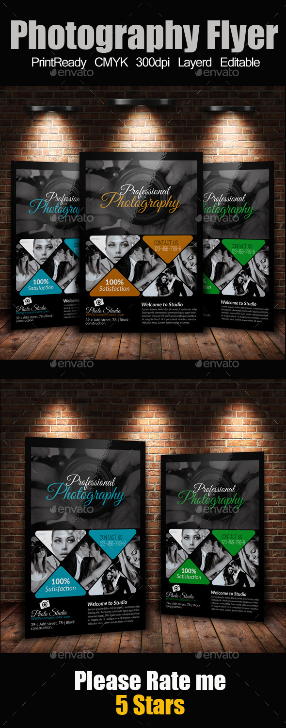A4 Photography Flyer - Corporate Flyers