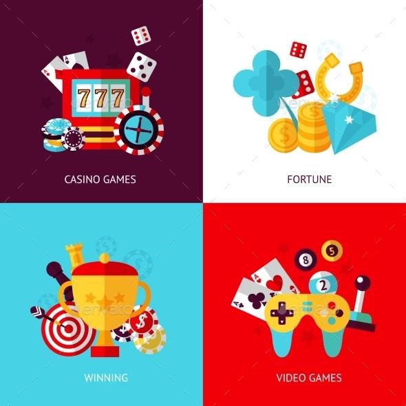 Game Design Set - Web Technology