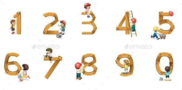 Numbers - Miscellaneous Vectors