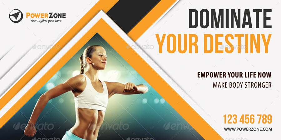 sport activity banner templates by rapidgraf