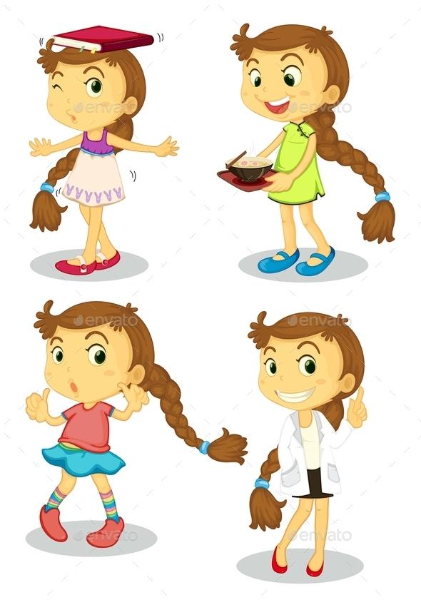 Girl - People Characters