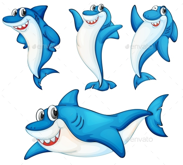Shark Series - Animals Characters