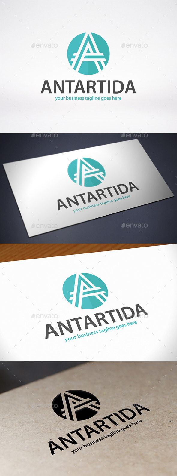 A Letter Logo Template - Letters Logo Templates