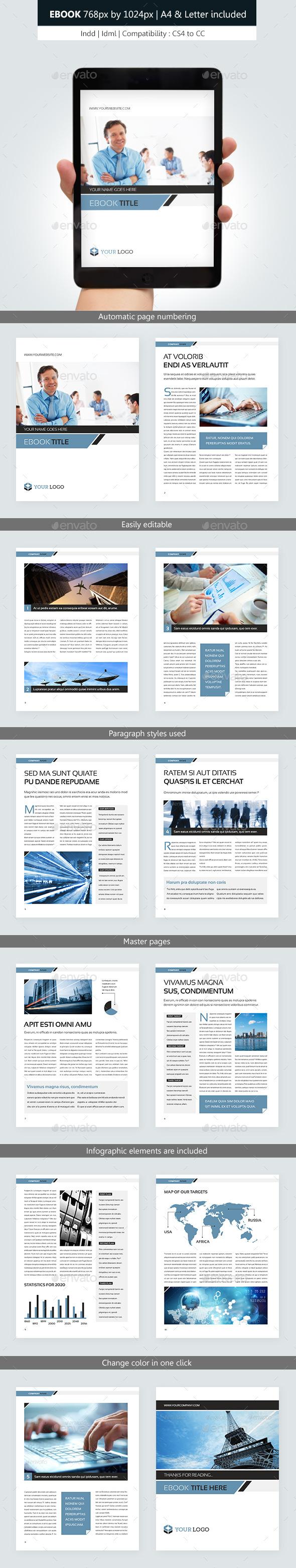 Corporate ebook template design by franceschi rene