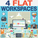 Flat Office Devices and Tools