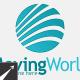 Moving World Marketing Logo Template