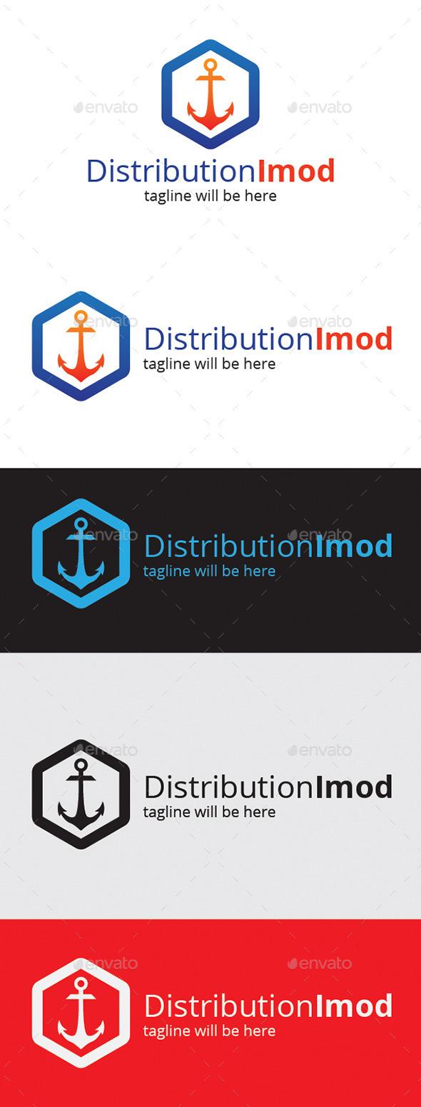 Distribution Imod Logo - Logo Templates