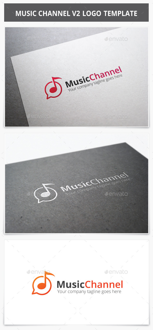 Music Channel V2 Logo - Vector Abstract