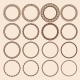 Set of Round Pattern Frames - GraphicRiver Item for Sale