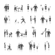 Family Icons Set Black - GraphicRiver Item for Sale