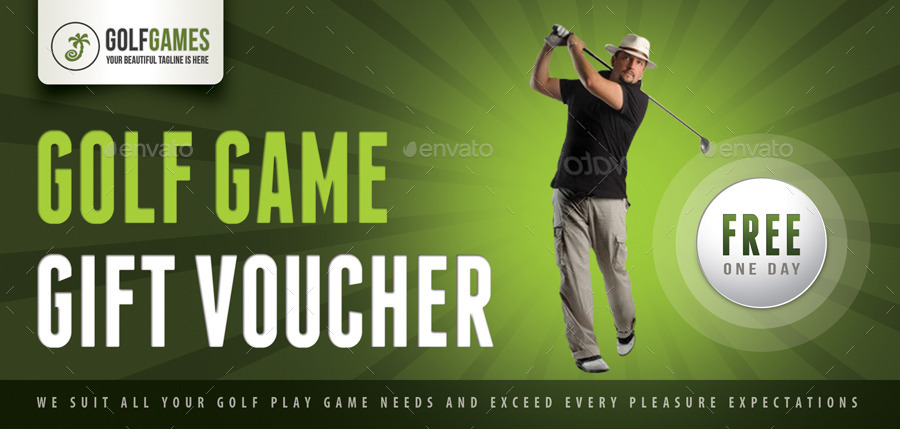 Free gift certificate template for golf image collections 3 in 1 golf game gift voucher bundle by rapidgraf graphicriver 3 in 1 golf game yelopaper Images
