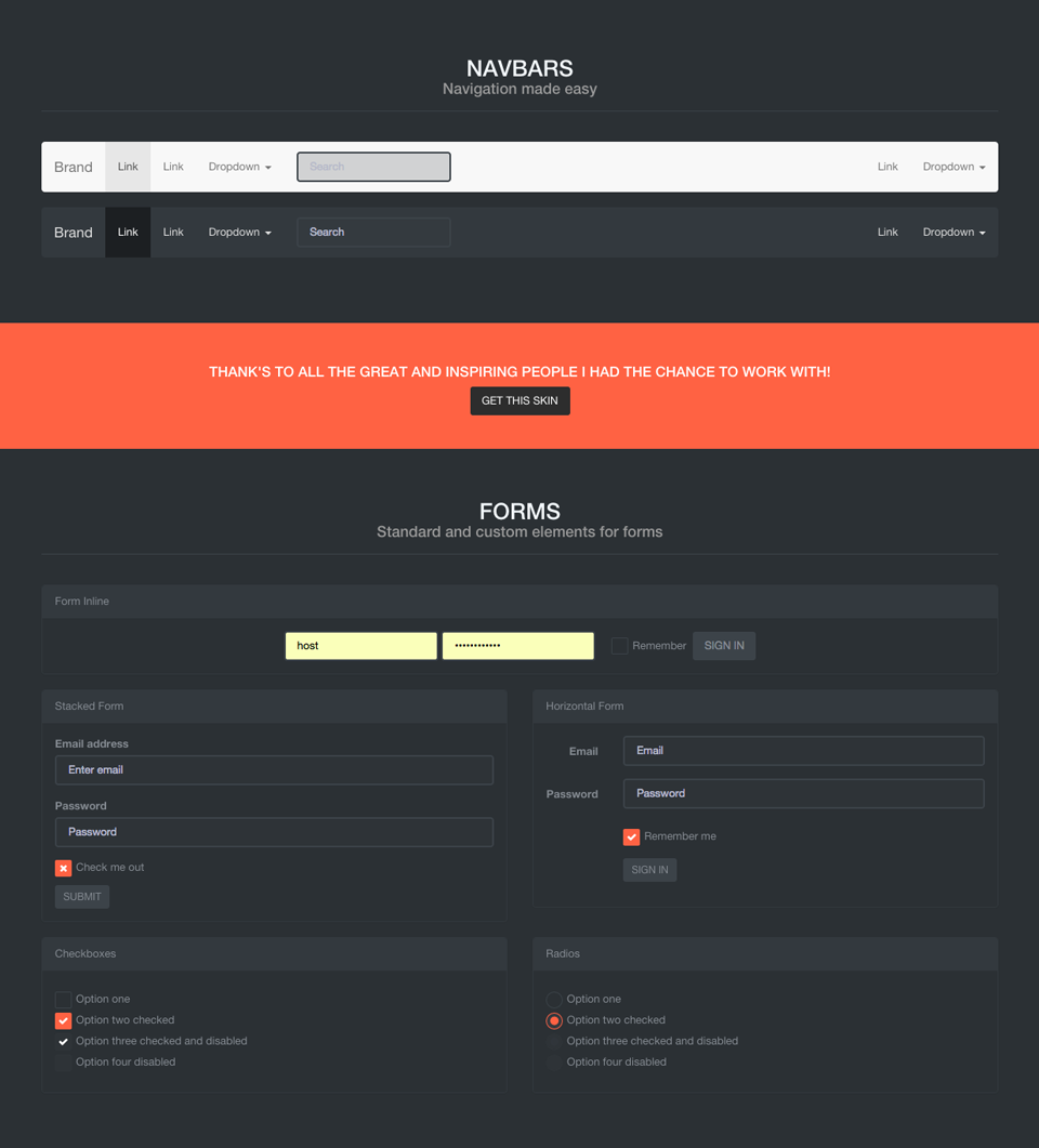 Cs black bootstrap 3 skin by cantusstar codecanyon cs black bootstrap 3 skin falaconquin