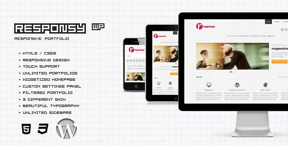 Responsy WP - Responsive HTML5 Portfolio - Portfolio Creative