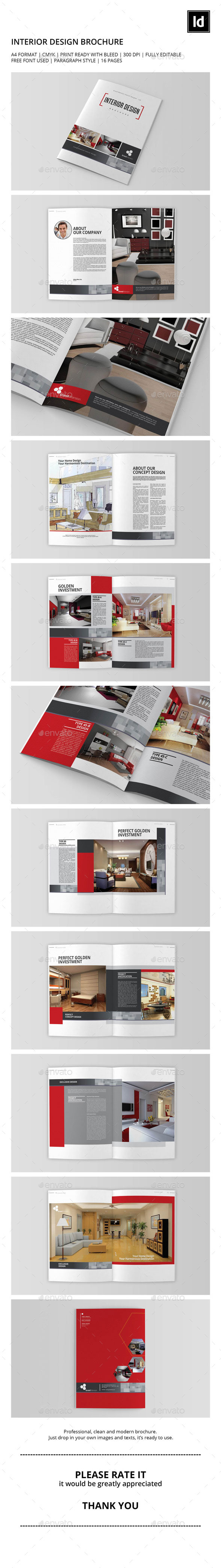 Interior Design Brochure/Catalog Vol.1 - Catalogs Brochures