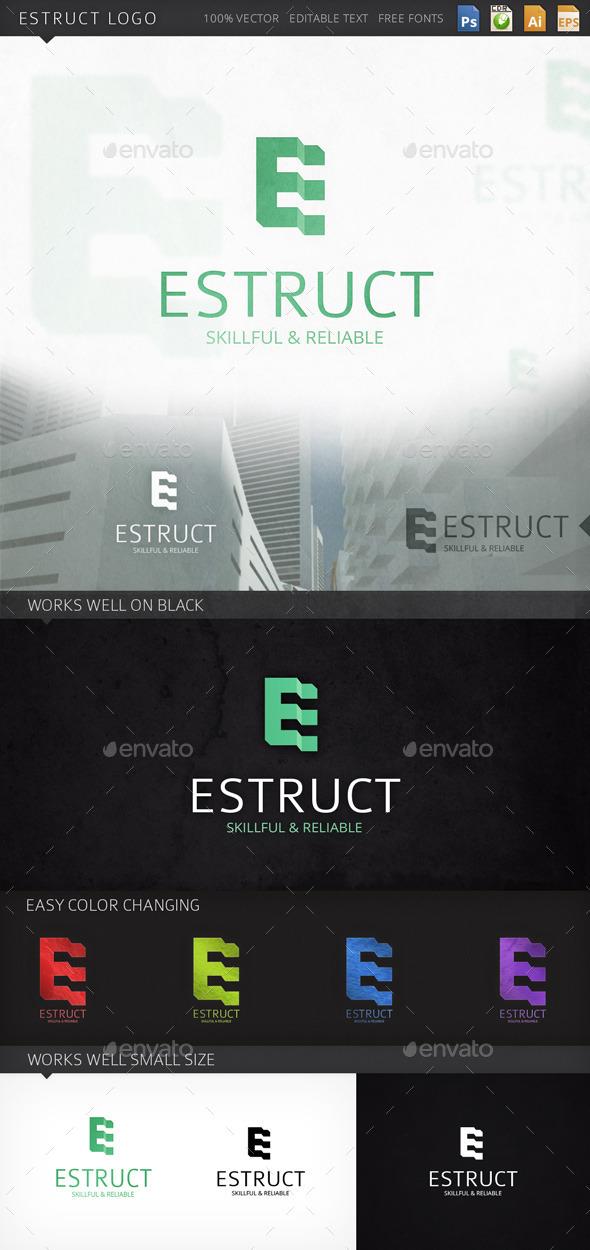 Estruct Logo - Letters Logo Templates