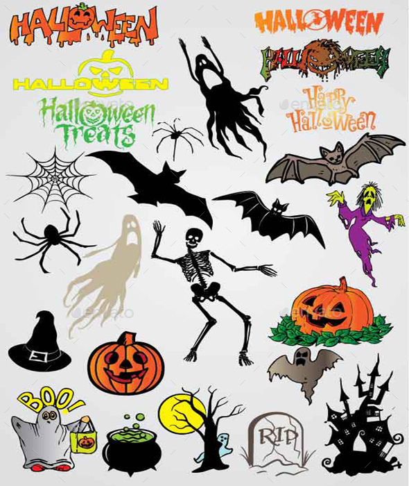 25 Halloween Vectors - Vectors