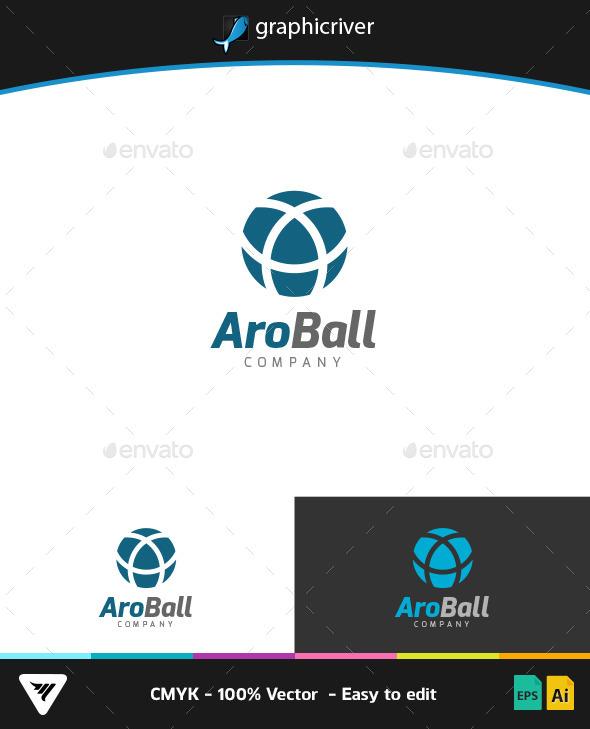 AroBall Logo - Logo Templates