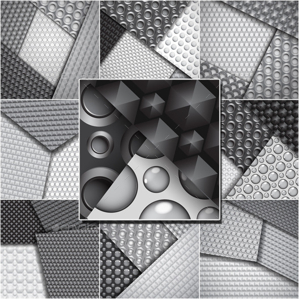 Backgrounds of Seamless Carbon Fiber Patterns - Backgrounds Decorative