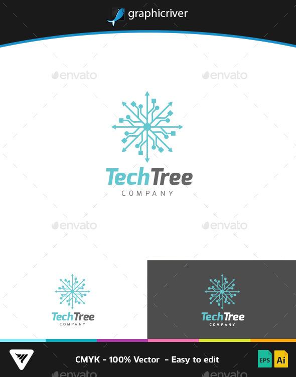TechTree Logo - Logo Templates