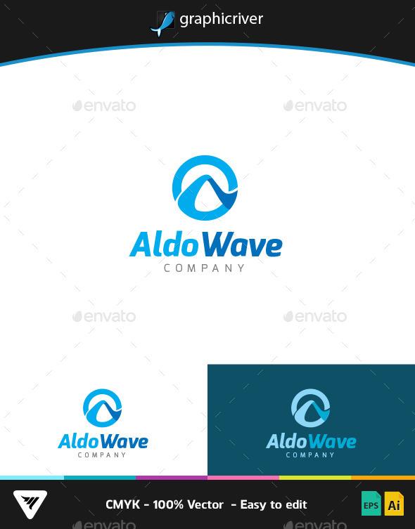 Aldo Wave Logo - Logo Templates
