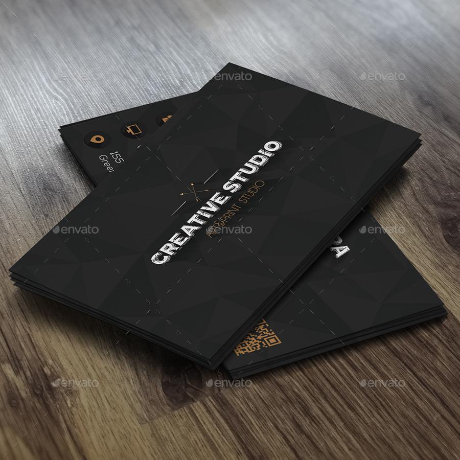Black diamond business card by infenixx graphicriver black diamond business card creative business cards 1g 2g magicingreecefo Choice Image