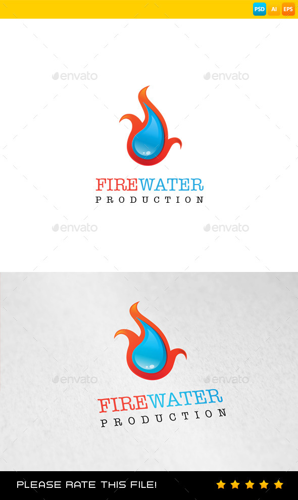 Fire Logo - Vector Abstract