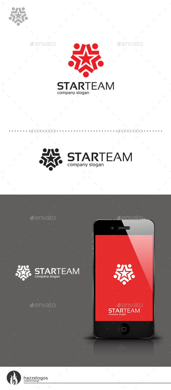 Star Team Logo - Symbols Logo Templates