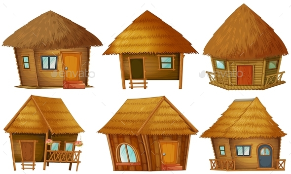 Cottage Set - Buildings Objects