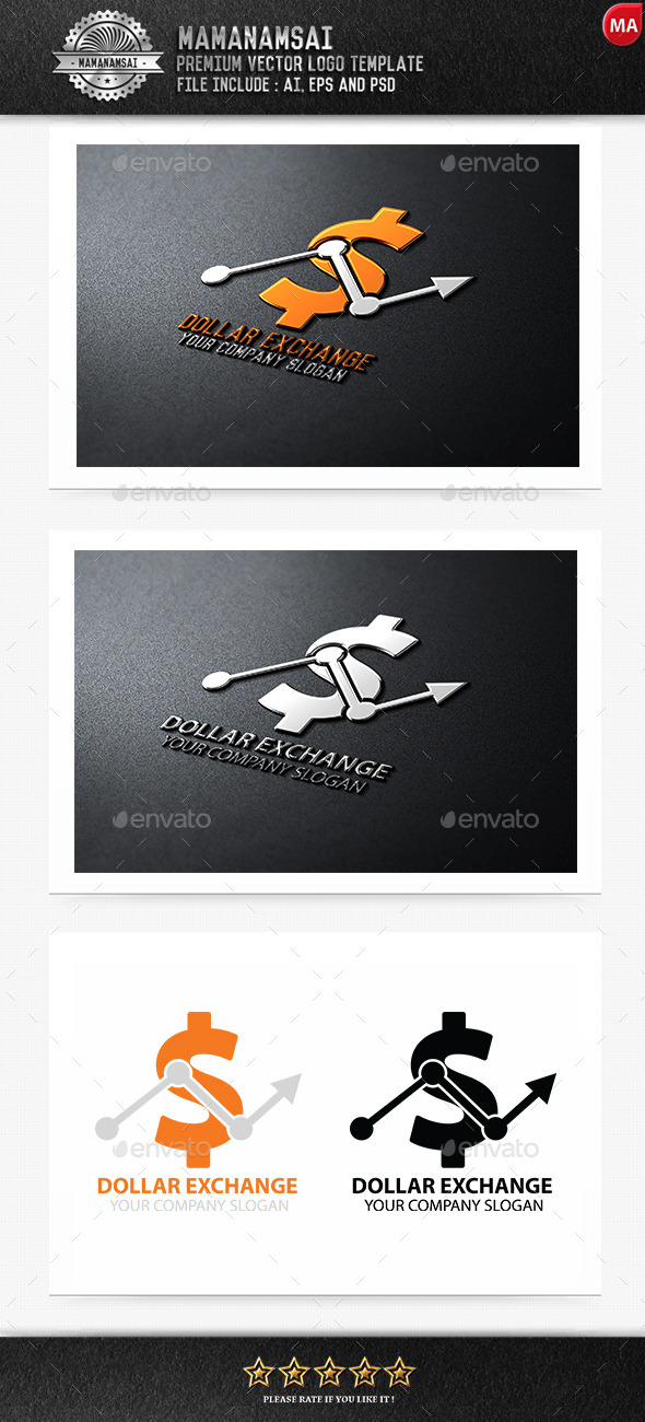 Dollar Exchange Logo - Logo Templates