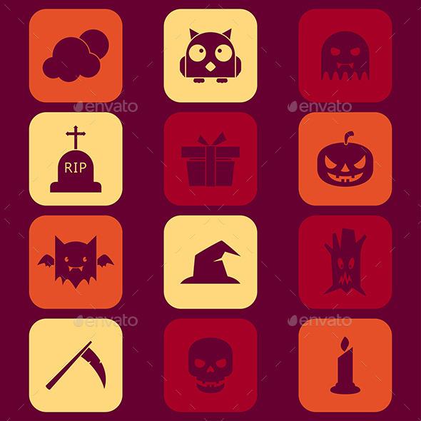 Halloween Icons - Halloween Seasons/Holidays