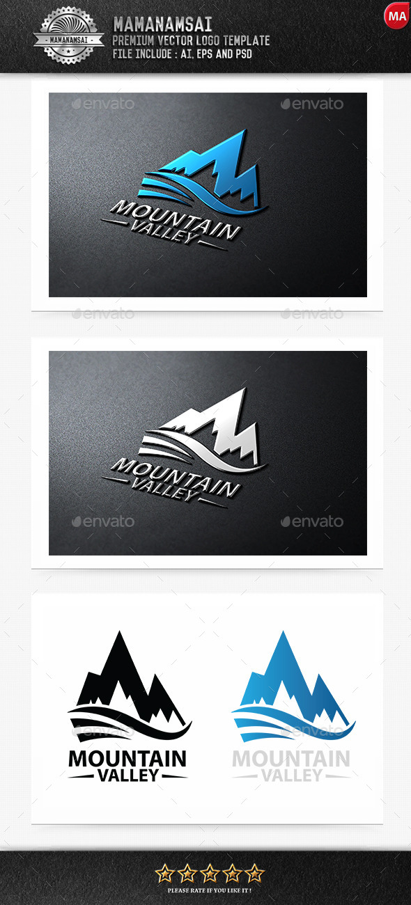 Mountain Valley Logo - Logo Templates